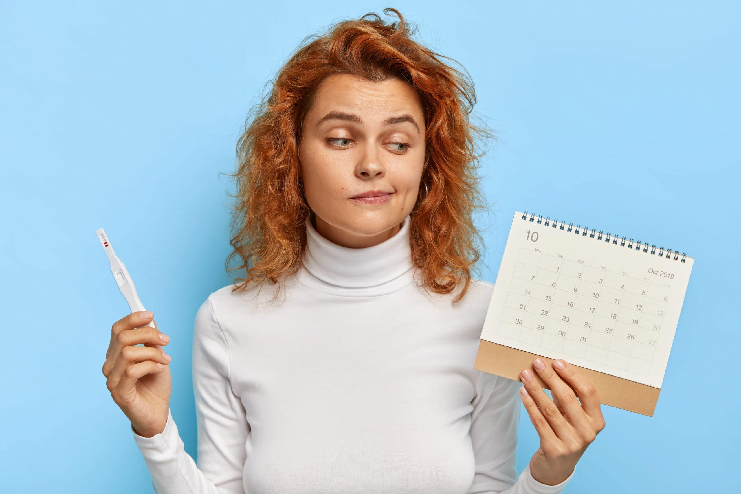 Test d'ovulation positif : je suis enceinte ?